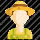 farmer, gardener, helper icon
