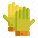 gardening gloves, gloves icon