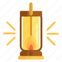 candle, fire, flame, lantern icon