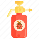 bug, insecticide, pesticide, poison icon