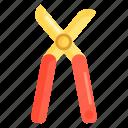 garden pruner, pruner, scissors icon