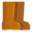 boots, rubber, rubber boots icon