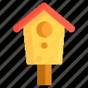 bird box, box, starling, starling box icon