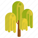 nature, tree, weeping, weeping willow, willow icon
