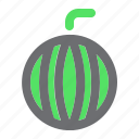 agriculture, farming, fruit, gardening, watermelon icon