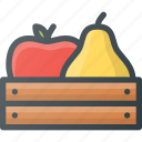 bio, farming, fresh, fruits, gardening, natural, plant icon