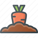bio, farming, fresh, gardening, natural, plant, vegetable icon