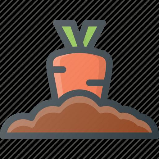 bio, farming, fresh, gardening, natural, plant, vegetable icon