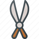 gardening, hedge, scissors, tool, trimmer icon