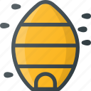 apiary, apiculture, bee, hive, honey icon