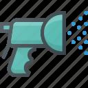 garden, gardening, hose, tool, water icon