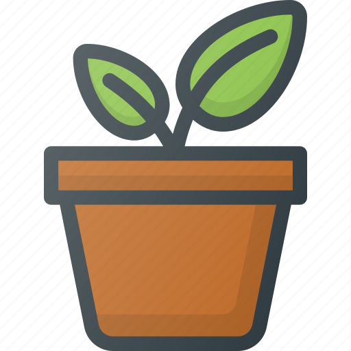 bio, eco, gardening, green, growing, natural, planting icon