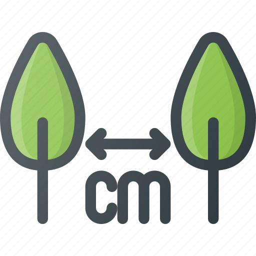 bio, distance, eco, gardening, growing, planting, ploanting icon