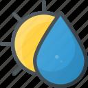 balance, ballance, farming, gardening, nature, rain, sun icon