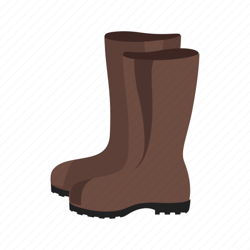 boots, footwear, garden, gardening, rain, rubber, waterproof icon