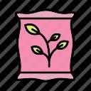 fertilizer, sack, seed