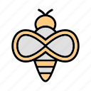 bee, honey, insect icon