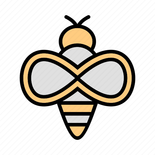 Bee, honey, insect icon - Download on Iconfinder