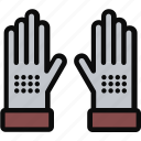 agriculture, farming, finger, gardening, gloves, hand icon