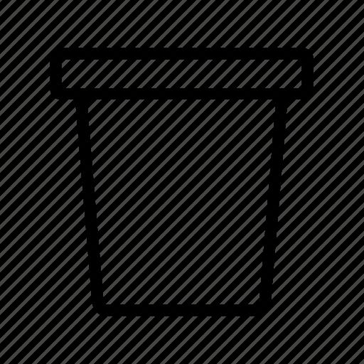 bucket, flower pot, gardening, pot, tools icon