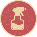 bottle, spray, sprayer icon