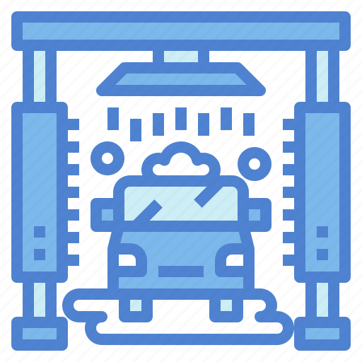 car, care, cleaning, transportation, wash icon