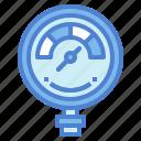 gauge, measure, meter, pressure icon