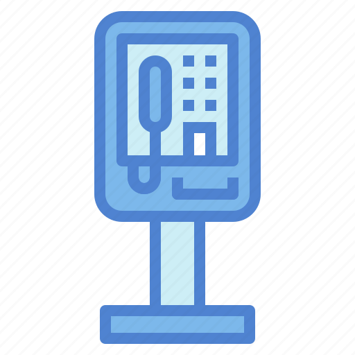 call, communications, phone, public, telephone icon
