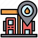adress, house, interface, location, placeholder icon
