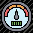 gauge, miscellaneous, pressure, speedometer, velocity icon