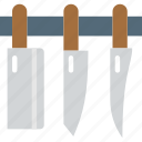 aluminium, food, kitchen, knives, ustensil icon
