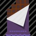 bar, chocolate, dessert, food, snack icon