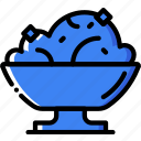 cooking, food, gastronomy, mashed, potatoes icon
