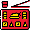 cooking, food, gastronomy, sushi icon