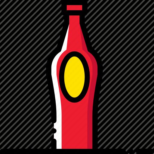 bottle, cooking, food, gastronomy, juice icon