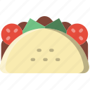 cooking, food, gastronomy, taco