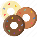 cooking, donuts, food, gastronomy icon