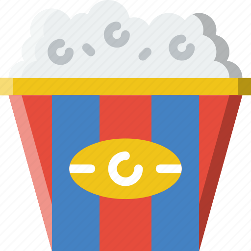 cooking, food, gastronomy, popcorn icon