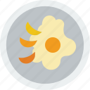 food, gastronomy, eggs, cooking, fried