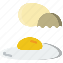 food, gastronomy, cooking, egg, fried