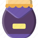 cooking, food, gastronomy, jar, marmalade icon