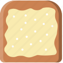 and, bread, butter, cooking, food, gastronomy icon