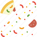cooking, eaten, food, gastronomy, pizza icon
