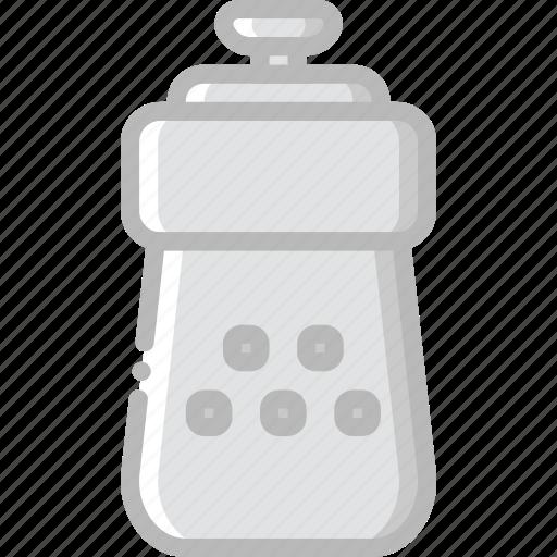 cooking, food, gastronomy, salt, shaker icon