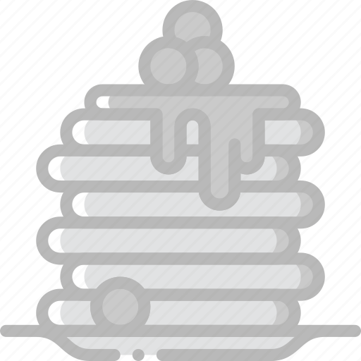 cooking, food, gastronomy, pancakes icon