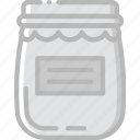 cooking, food, gastronomy, jam icon