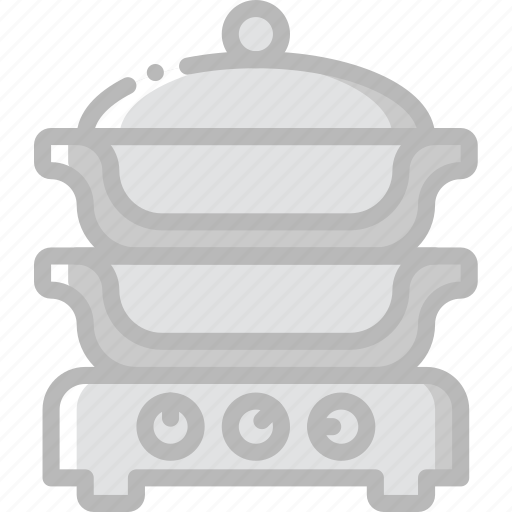 cooker, cooking, food, gastronomy, steam icon