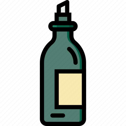 bottle, cooking, food, gastronomy, olio icon