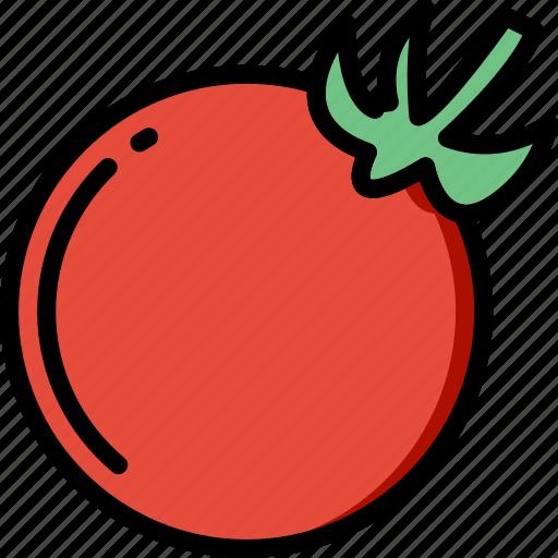 cooking, food, gastronomy, tomato icon