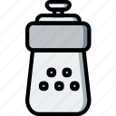 cooking, food, gastronomy, salt, shaker icon